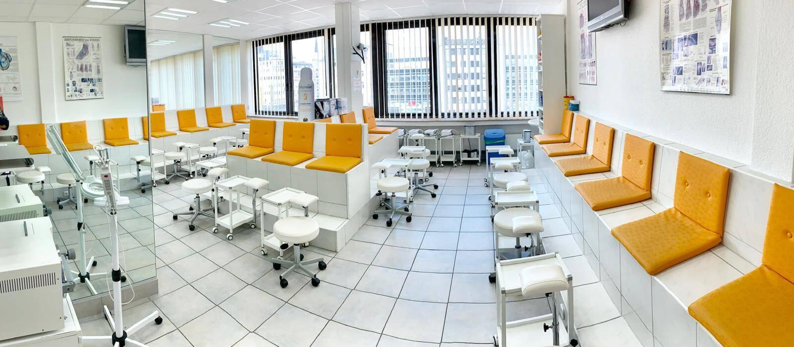 Unterrichtsraum der Medizinischen Fußpflege
