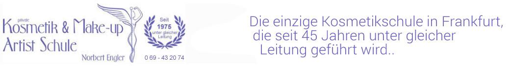 Kosmetikschule Engler in Frankfurt am Main | Ihre top Kosmetikschule in Hessen für alle aus Frankfurt, Wiesbaden, Hanau, Darmstadt und Gießen. Logo